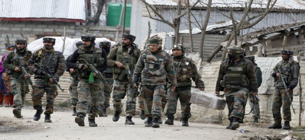 Encounter between security forces and terrorists (File Photo)
