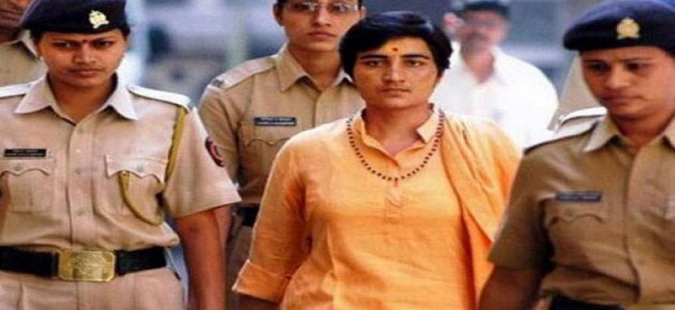 """Pragya Thakur had claimed that Karkare died during the attacks as she """"cursed"""" him for torturing her"""