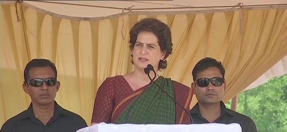 Congress general secretary Priyanka Gandhi in Wayanad (ANI Photo)