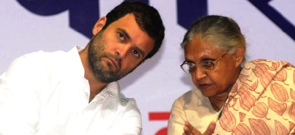 Rahul Gandhi and Sheila Dikshit (File Photo)