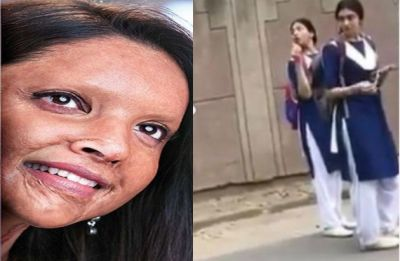 WATCH! Deepika Padukone turns school girl for Chhapaak shoot; video leaked from sets