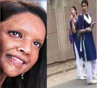 WATCH! Deepika Padukone turns school girl for Chhapaak shoot; video leaked from sets