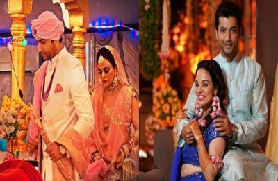 Sharad Malhotra-Ripci Bhatia wedding: Check out first PHOTOS of newlyweds
