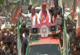 LS Polls LIVE: Amit Shah holds road show in Gujarat's Sanand as campaigning for third phase ends today