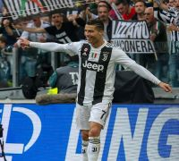 Ronaldo '1,000 percent' committed as Juventus win eighth successive title