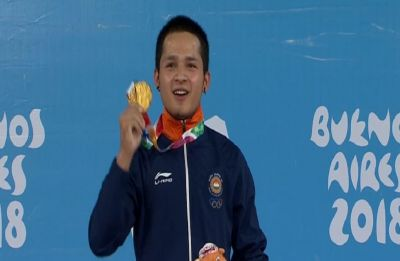 Jeremy Lalrinnunga smashes three world records in Asian Weightlifting Championship