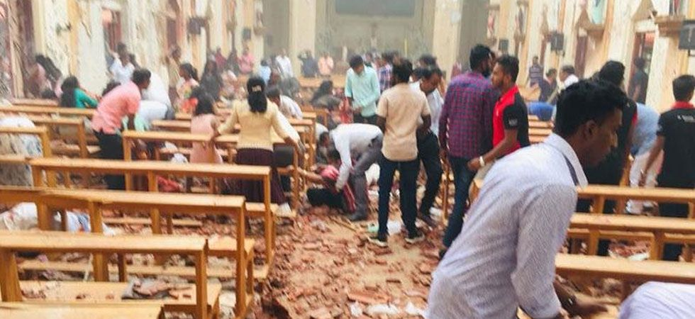Blasts hit two Sri Lanka churches during Easter mass on Sunday (Photo: Twitter)