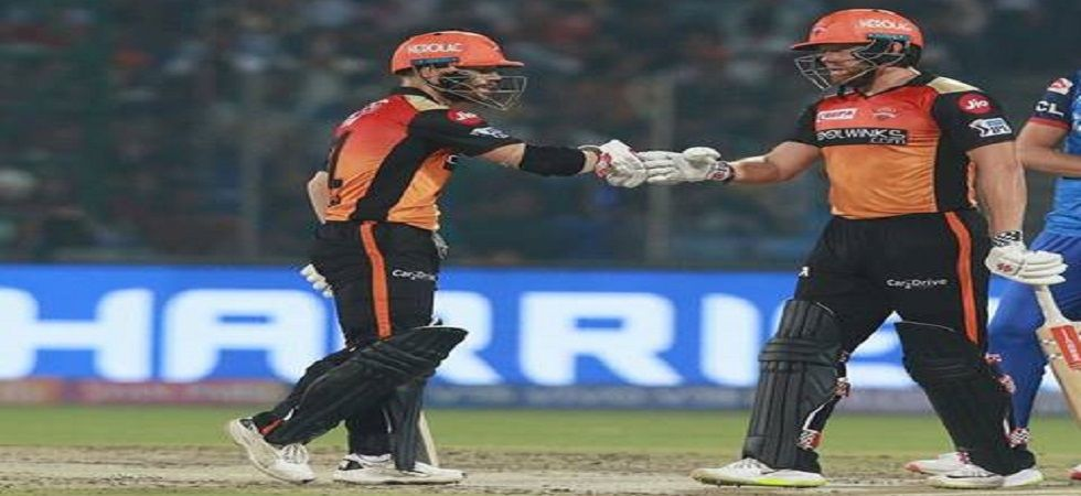 David Warner and Jonny Bairstow smashed fifties and boosted Sunrisers Hyderabad to a nine-wicket win against Kolkata Knight Riders. (Image Credit: Twitter)