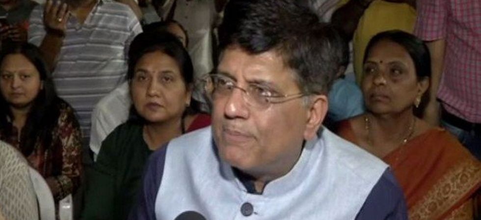 Piyush Goyal said that the Congress president doesn't have the courage to speak against the Left. (Image Credit: ANI)
