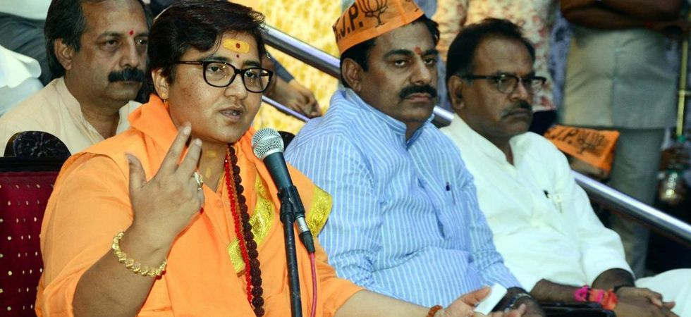 Pragya Thakur said she stood by her remark and that the notice would be replied to in accordance with the law. (File Photo: IANS)