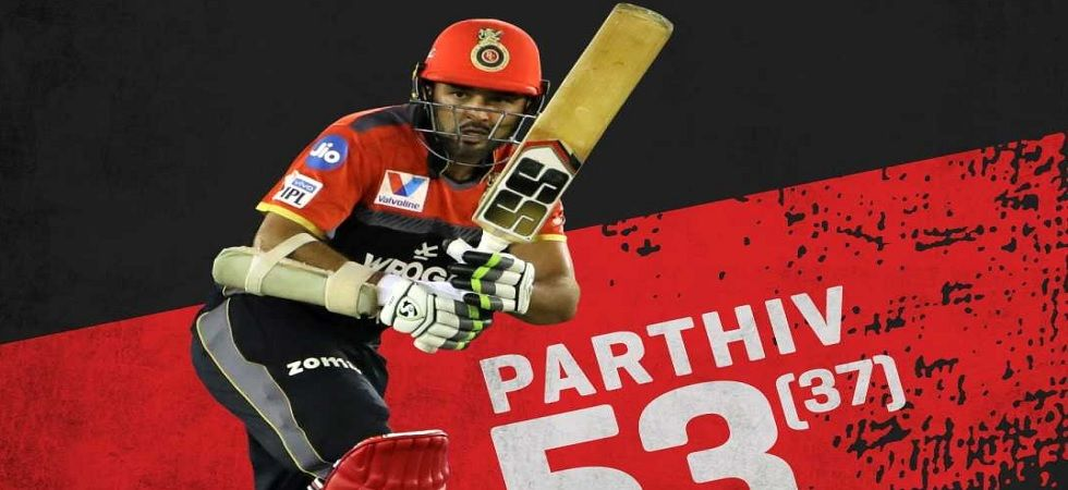 RCB wicketkeeper-batsman Parthiv Patel (Photo:Twitter/@RCBtweets)