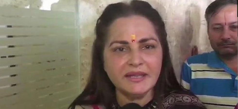 A non-cognisable report has been filed against actor-turned-politician Jaya Prada. (File Photo: ANI)