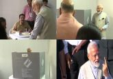 Voter ID more powerful than terrorists' IED: PM Modi after voting in Ahmedabad's Ranip