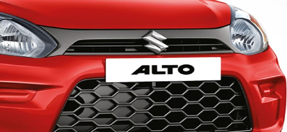 Maruti drives in new Alto 800, price starts at Rs 2.93 lakh (Image credit: Maruti Alto website)