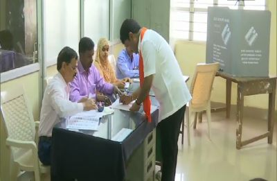 Karnataka votes for remaining 14 Lok Sabha seats