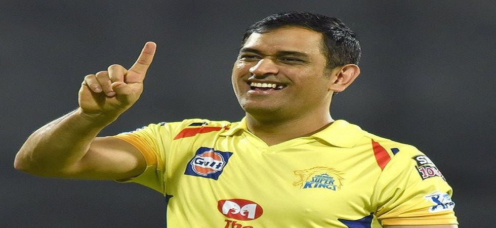 MS Dhoni has given a cheeky response to Chennai Super Kings' success in the IPL after the team sealed the playoff spot for the 10th time. (Image credit: Twitter)