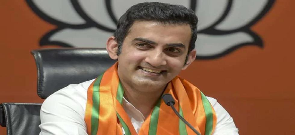 Cricketer-turned-politician Gautam Gambhir is BJP's East Delhi candidate (Image Credit: Twitter)