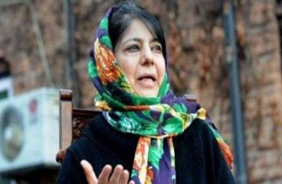Mehbooba Mufti leads protest in Pulwama against LoC trade ban, Yasin Malik's arrest