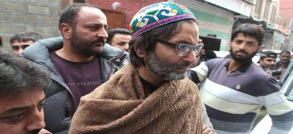 Yasin Malik was detained by the Jammu and Kashmir police from his residence in Srinagar on February 22