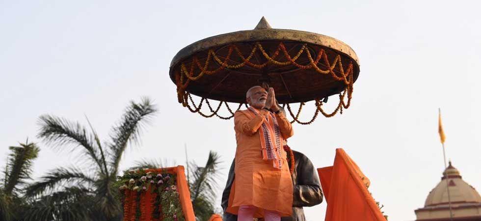 Narendra Modi in Varanasi (Photo: Twitter)