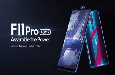 OPPO launches Marvel's Avengers limited edition version of F11 Pro device