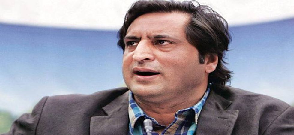 """Sajad Lone on Friday called former chief minister Farooq Abdullah's for praising for Yasin Malik """"utterly disdainful hypocrisy"""""""