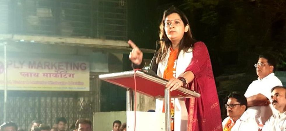 Priyanka Chaturvedi (Photo Credit: Twitter/ @priyankac19)