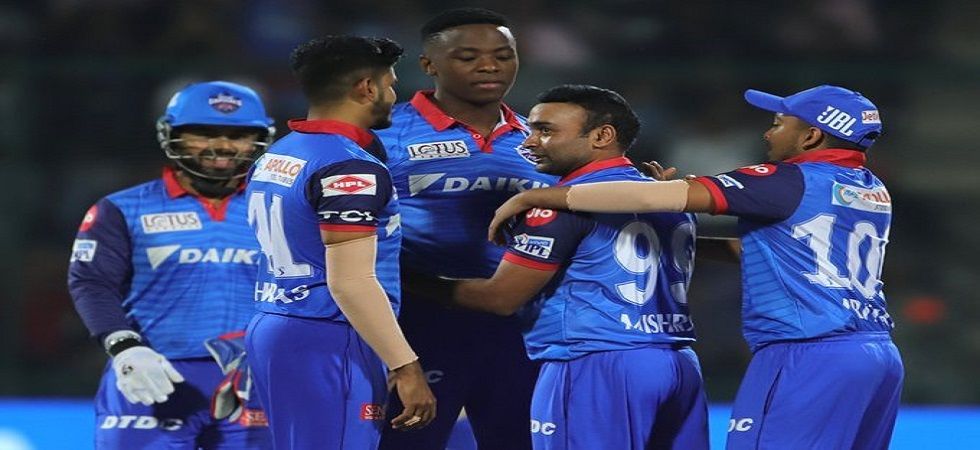 Amit Mishra took two wickets as Delhi Capitals won by 16 runs against Royal Challengers Bangalore. Get live cricket score and updates here. (Image credit: Twitter)