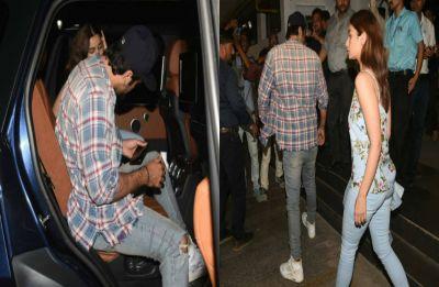 Alia Bhatt, Ranbir Kapoor enjoy a movie date