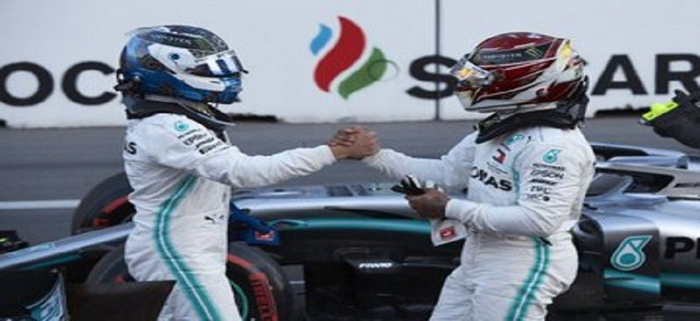 Valtteri Bottas and Lewis Hamilton gave Mercedes their fourth consecutive one-two finish in the ongoing 2019 Formula One season. (Image credit: Twitter)