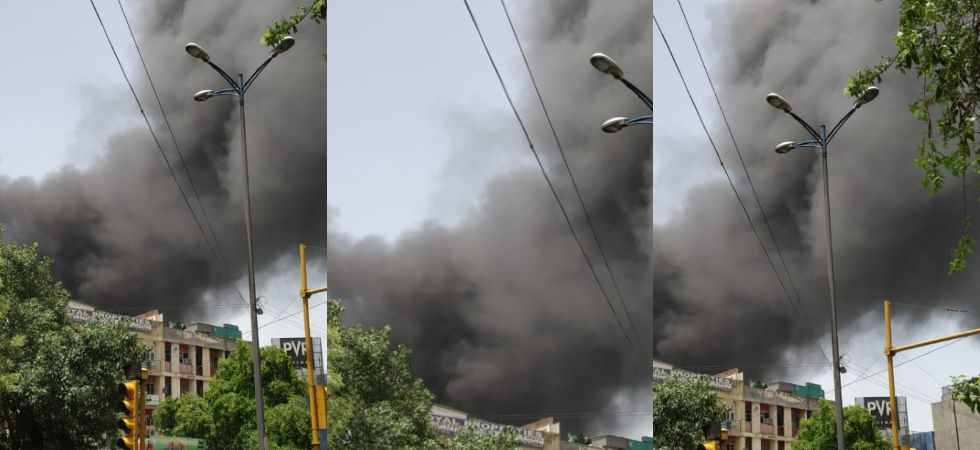 Fire breaks out at chemical factory in Naraina, 30 fire tenders present at spot