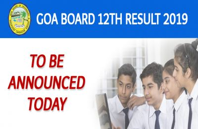 Goa Board HSSC Result 2019: GBHSE declared Class 12 Results today at ghshse.gov.in