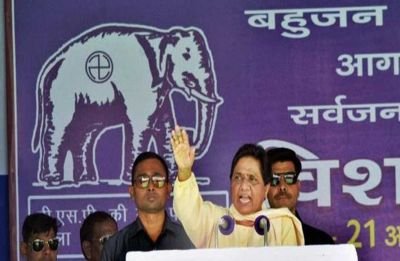 Mayawati accuses Congress of intimidating BSP candidate in MP, threatens to withdraw support
