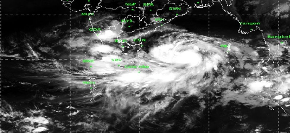 Cyclone Fani on Tuesday intensified into severe cyclonic storm over Bay of Bengal (Photo: IMD)
