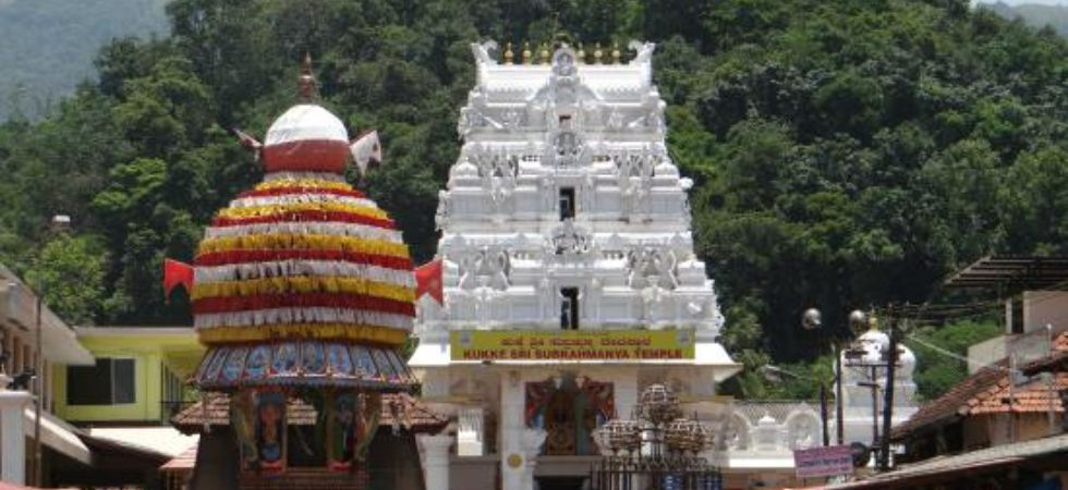 Karnataka's  Kukke Subrahmanya temple is said to be the richest among the shrines under the state Muzrai department, which administers several temples. (File photo)