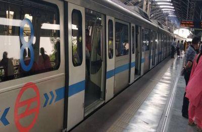 Man jumps before Delhi Metro train at Dwarka Sector 9 station, critically injured
