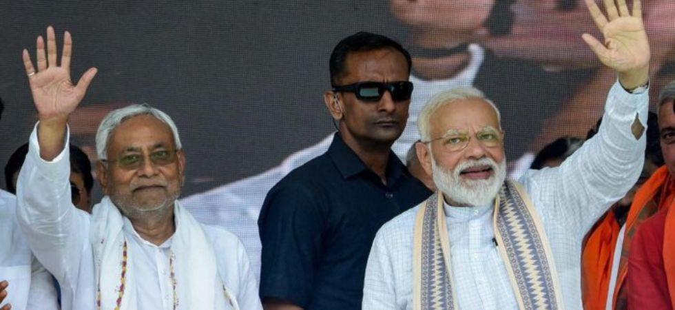 Nitish Kumar & PM Modi (File Photo)