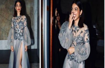 Indie queen, Radhika Apte looks ethereal in a tulle slit gown at an Awards night
