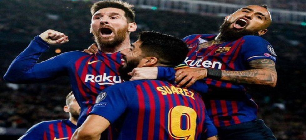 FC Barcelona defeated Liverpool 3-0 with Lionel Messi scoring twice in the UEFA Champions League semifinal. (Image credit: Barcelona Twitter)