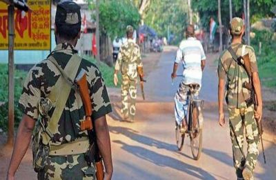 Shootout at central force base in Howrah's Bagnan in West Bengal, 1 soldier killed