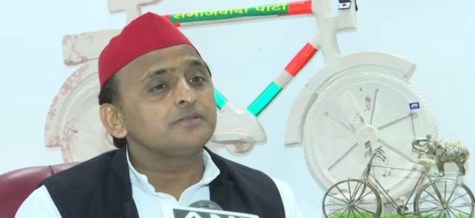 Samajwadi Party (SP) president Akhilesh Yadav (ANI Photo)