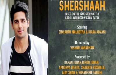 Sidharth Malhotra and Kiara Advani to star in Vikram Batra's biopic Shershaah