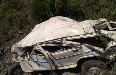 Himachal Pradesh: 5 killed, 5 injured after jeep rolls down cliff in Mandi district