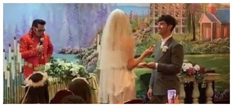 Joe Jonas and Sophie Turner have tied the knot (Photo: Instagram)