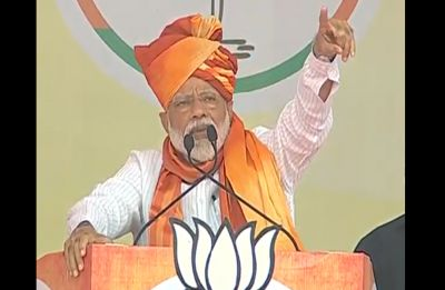 LS Polls | Congress couldn't stop India's share of river water flowing to Pakistan: PM Modi