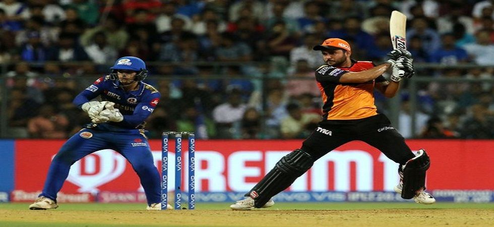Sunrisers Hyderabad will have to win their last game and hope other results go in their favour if they have to seal the fourth spot. (Image credit: Twitter)