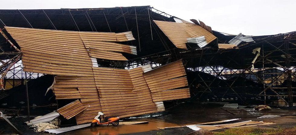 Cyclone Fani hit the Odisha coast at around 8 am with powerful winds of 145 kilometres per hour on Friday. (Photo: PTI)