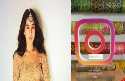 Sara Ali Khan wins Instagrammer of the year 2019, shares #instamoment with fans