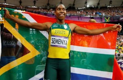 Caster Semenya wins 800m in Doha Diamond League in first race after controversial gender ruling