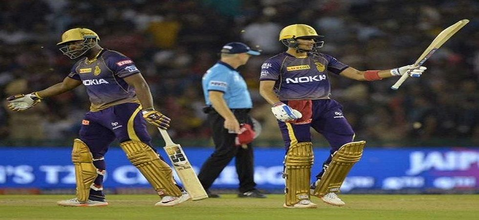 Kolkata Knight Riders have taken one step closer to the playoffs by beating Kings XI Punjab. (Image credit: Twitter)